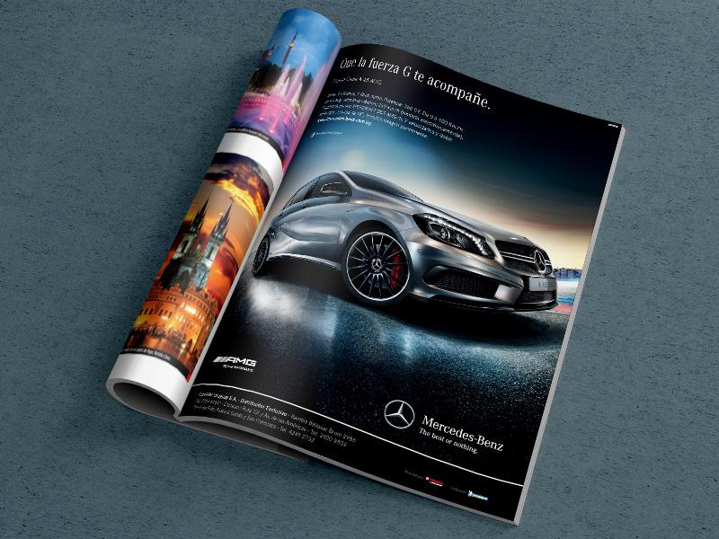 Mercedes-Benz - Diseño Publicidad